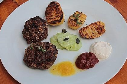 Marinierte Riffelsteaklettes von der Kartoffel für den Grill 3