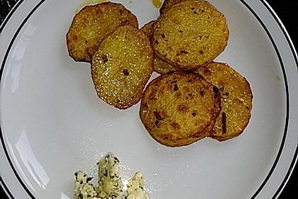 Marinierte Riffelsteaklettes von der Kartoffel für den Grill 4