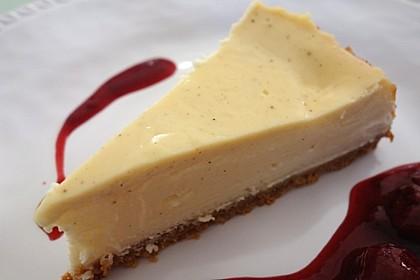 """Amerikanischer New York Cheesecake - so wie der berühmte """"Lindy's"""" 10"""