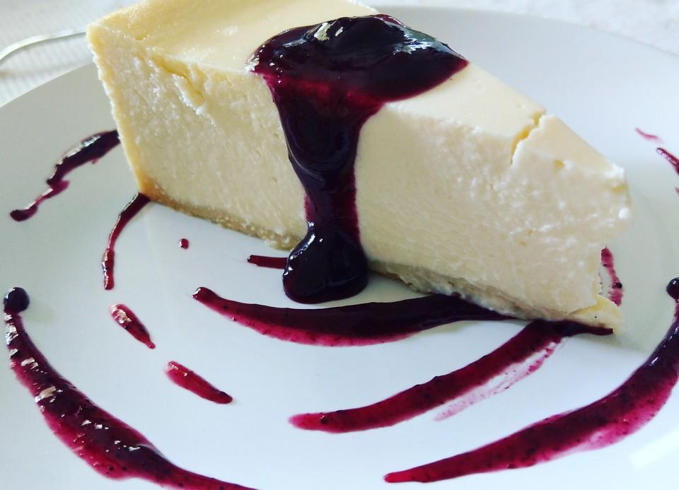 Amerikanischer New York Cheesecake