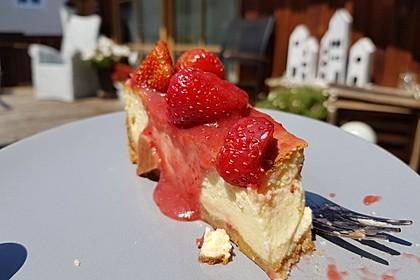 """Amerikanischer New York Cheesecake - so wie der berühmte """"Lindy's"""" 80"""