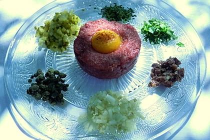 Beefsteak Tatar (Bild)