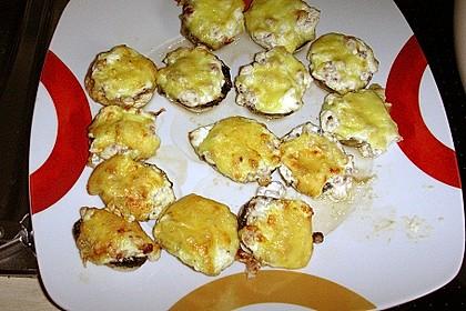 Gefüllte Champignons mit dem Actifry Snacking