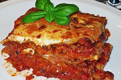 Zucchini-Lasagne (Bild)