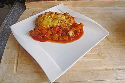 Mediterraner Hühnchenbrust-Gemüseauflauf 1