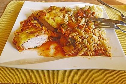 Mediterraner Hühnchenbrust-Gemüseauflauf 2