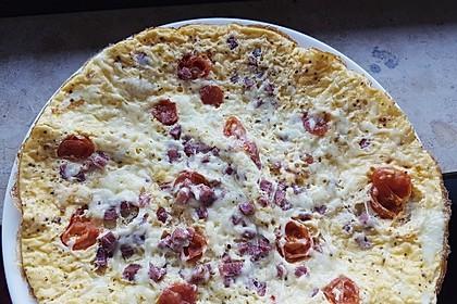 Frühstücks- Pfannenpizza 9