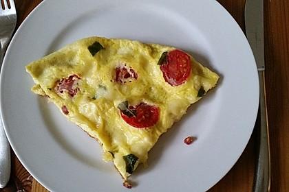 Frühstücks- Pfannenpizza 12