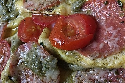 Frühstücks- Pfannenpizza 16