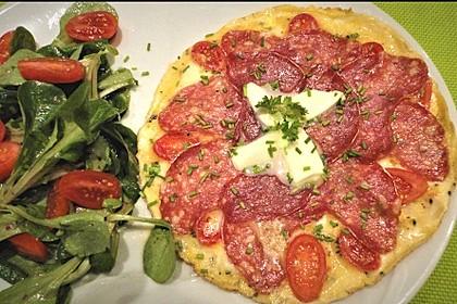 Frühstücks- Pfannenpizza