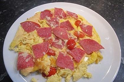 Frühstücks- Pfannenpizza 11