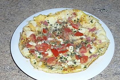 Frühstücks- Pfannenpizza 8