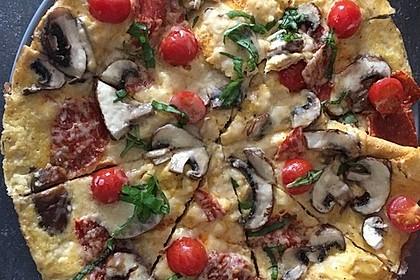 Frühstücks- Pfannenpizza 3
