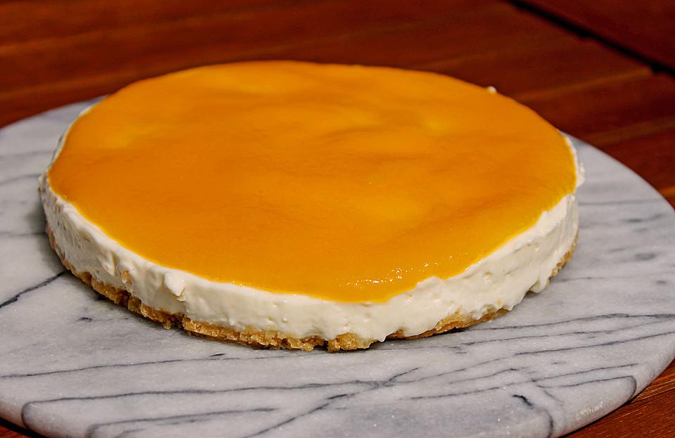 Philadelphia Torte Mit Pfirsichpuree Von Nineri91 Chefkoch De