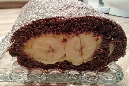 Bananenrolle (Bild)