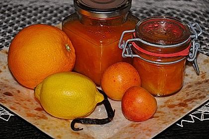 Marillen-Orangen-Marmelade