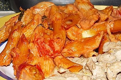 Cremiger Nudelauflauf mit Tomaten und Mozzarella 206