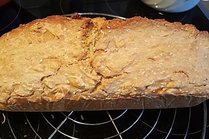 Brot mit Bier gebacken 22