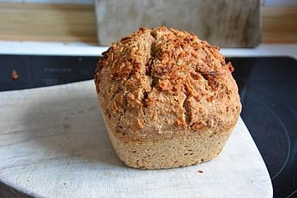 Brot mit Bier gebacken 3