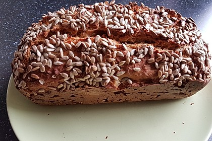 Brot mit Bier gebacken 2