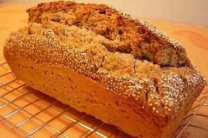 Brot mit Bier gebacken 7