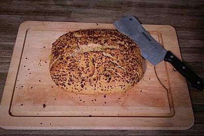 Brot mit Bier gebacken 13
