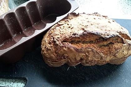 Brot mit Bier gebacken 11