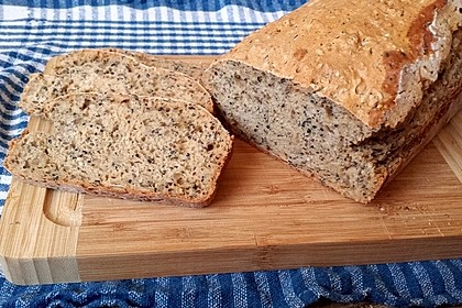Brot mit Bier gebacken 1