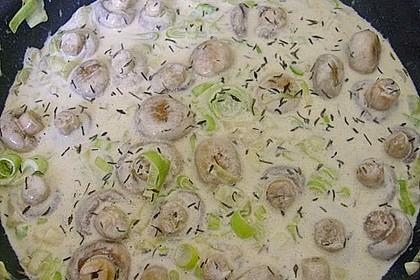 Champignons mit Knoblauchsoße 1