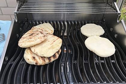Fladenbrot vom Grill, aus der Pfanne bzw. Ofen 15