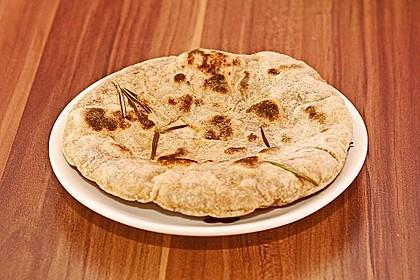 Fladenbrot vom Grill, aus der Pfanne bzw. Ofen 6