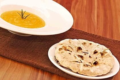 Fladenbrot vom Grill, aus der Pfanne bzw. Ofen 3