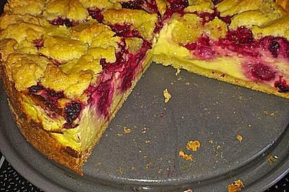 Himbeer Schmand Kuchen Mit Butterstreuseln Von Moorjager Chefkoch De