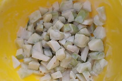 Apfel-Gurkensalat 3