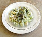 Apfel-Gurkensalat (Bild)