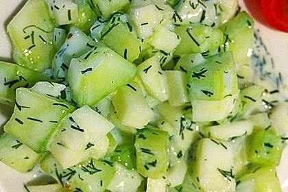 Apfel-Gurkensalat 2