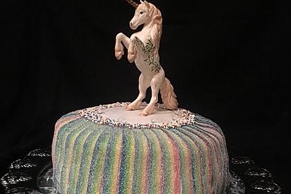 Regenbogen-Torte 2