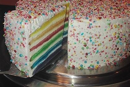 Regenbogen-Torte 6