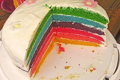 Regenbogen-Torte 9