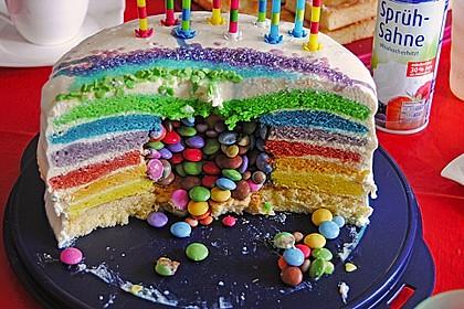 Regenbogen-Torte 12