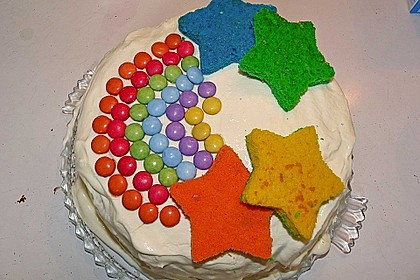 Regenbogen-Torte 29