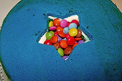 Regenbogen-Torte 26