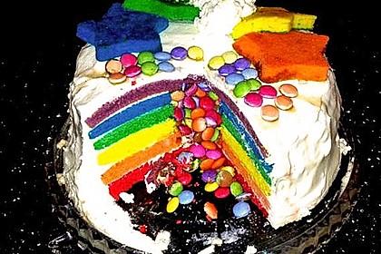 Regenbogen-Torte 8