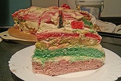 Regenbogen-Torte 42