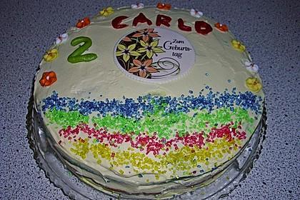 Regenbogen-Torte 38