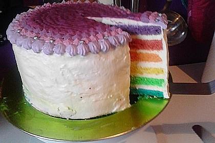 Regenbogen-Torte 10
