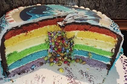 Regenbogen-Torte 35
