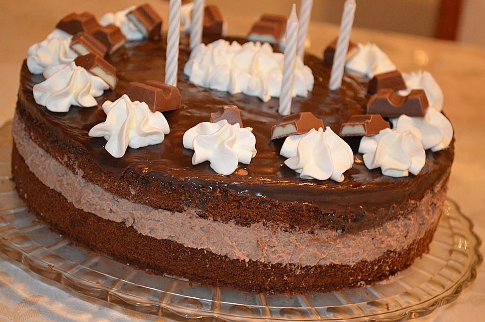 Kinderschokolade Torte Von Perniyan Chefkoch De