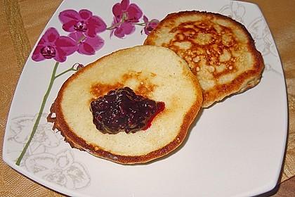 Laktose- und fruktosefreie Pancakes