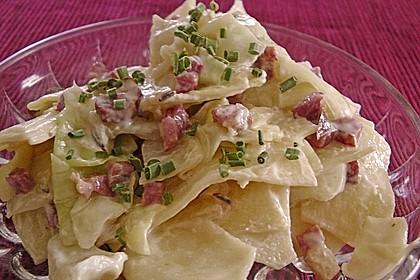 Fleckerl-Kraut-Salat à la Gabi